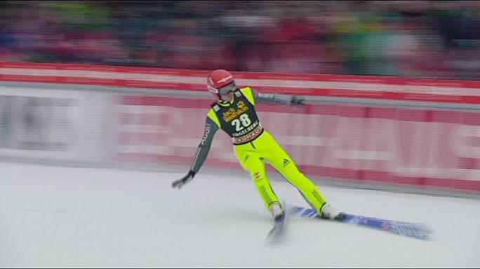 Kayakla Atlama: Podyumda Alman ve Avusturyalı hakimiyeti