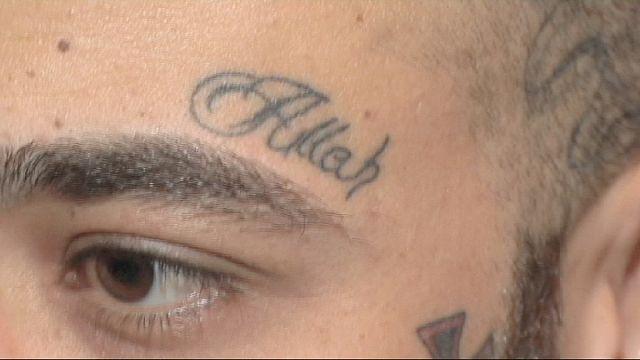 Tetoválások bemutatója Egyiptomban