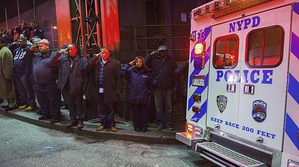 واکنش شهردار نیویورک به قتل دو افسر پلیس