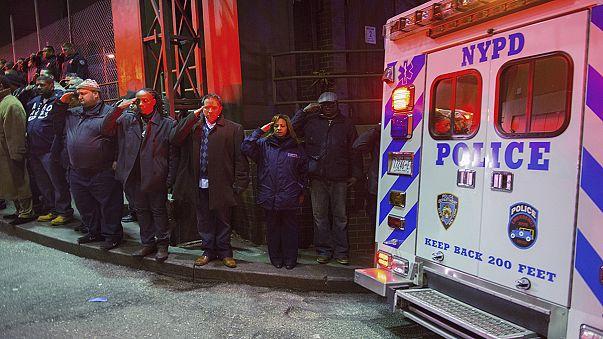 Atirador tinha anunciado intenção de matar dois polícias em Nova Iorque