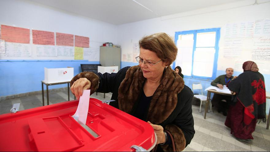 Polls open in Tunisia's landmark presidential election