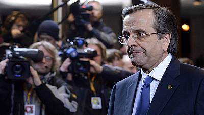 Greek PM Antonis Samaras proposes coalition deal