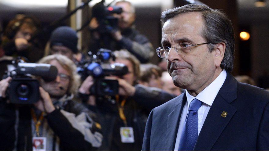 """Grecia, Samaras: """"votate Dimas presidente e allarghiamo il governo"""""""