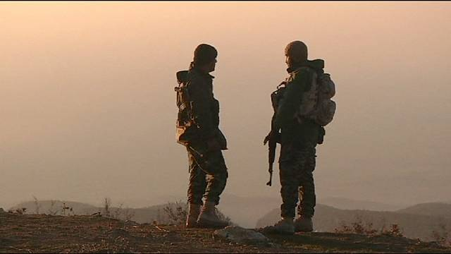 ISIL fighters 'flee' Iraq's Sinjar as Peshmerga troops 'make gains'