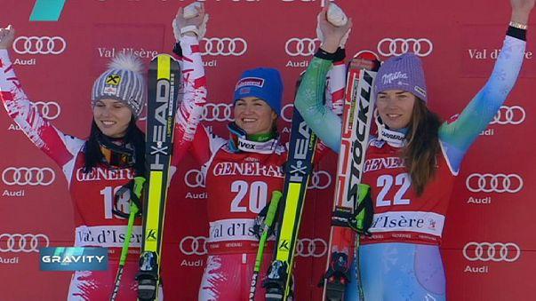 Hirscher, Goergl e Fenninger: Áustria domina fim de semana em Val d'Isère e em Alta Badia