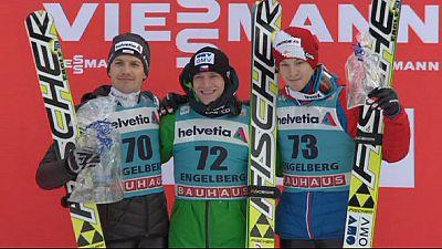Koudelka se acerca a Fannemel en la Copa del Mundo de saltos de esquí