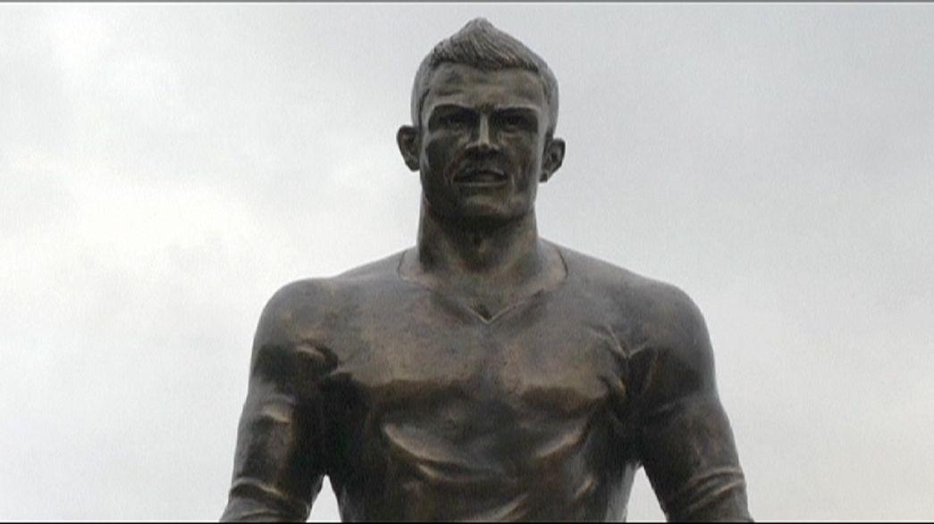 Cristiano Ronaldo hometown erects statue