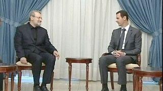 لاريجاني: طهران تدعم الجهود الهادفة لدفع الحوار بين السوريين