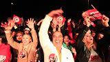 Bejelentette győzelmét a tunéziai elnökválasztás veteránja a hivatalos eredmény kihirdetése előtt