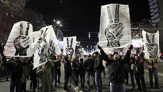 گرامیداشت بیست و پنجمین سالگرد انقلاب رومانی در بخارست