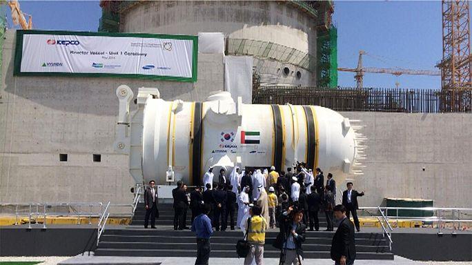تشغيل أول مفاعل نووي اماراتي مع بداية العام 2017