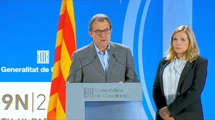Katalonya lideri Artur Mas'a sivil itaatsizlik soruşturması