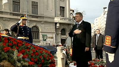 Romania marks the anniversary of the 1989 Revolution that toppled Nicolae Ceaușescu