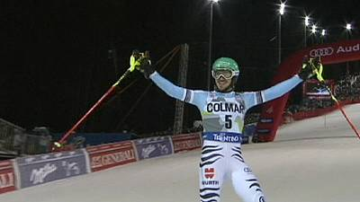 Alpine skiing: Neureuther claims first World Cup win of season