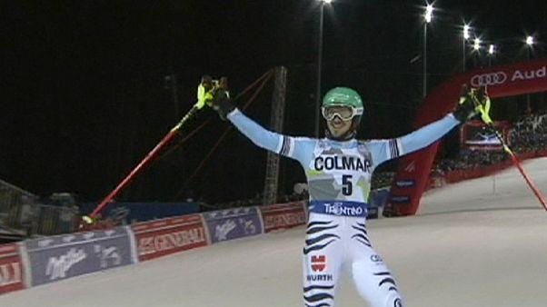 Deutscher Doppelerfolg im Slalom - Neureuther vor Dopfer