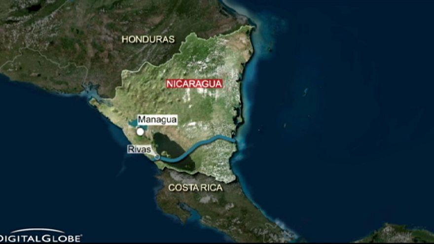 Nicarágua lança a obra do Grande Canal