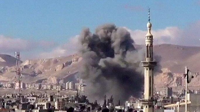 Szíriában iskolákat támadtak a kormánycsapatok