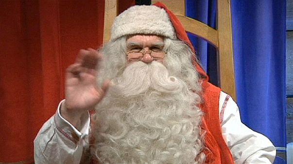 Le Père Noël a quitté la Laponie