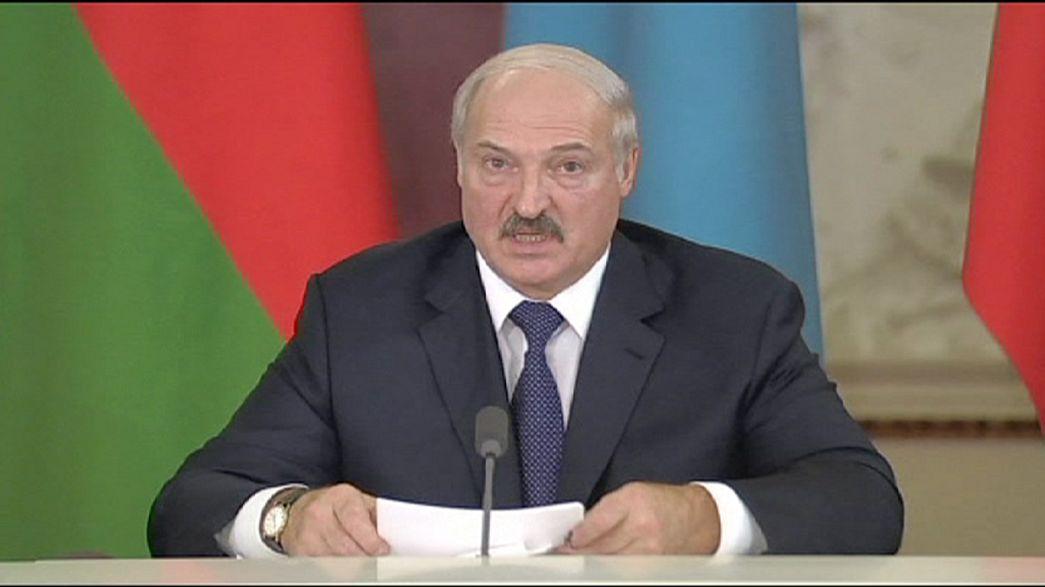 Alexandr Lukashenko fez estalar o verniz durante o anúncio da União Económica Euroasiática