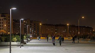 Η Μαδρίτη και τα... «έξυπνα» της φώτα!