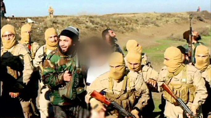 """اسقاط طائرة للتحالف قرب الرقة وتنظيم """"الدولة الاسلامية"""" يعلن اسر طيارها"""