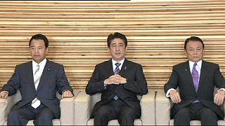 انتخاب دوباره شینزو آبه به نخست وزیری ژاپن