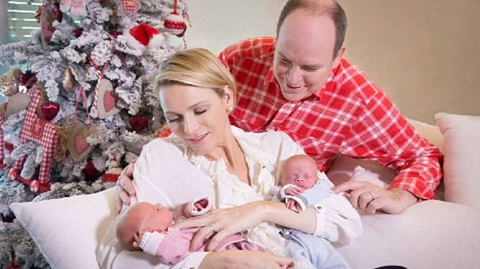 First photos of Monaco royal twins