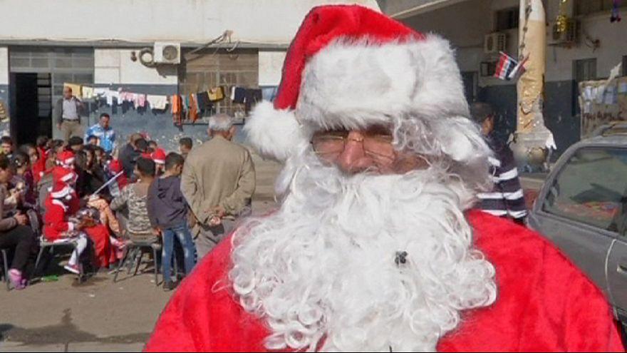 Cristãos iraquianos celebram Natal