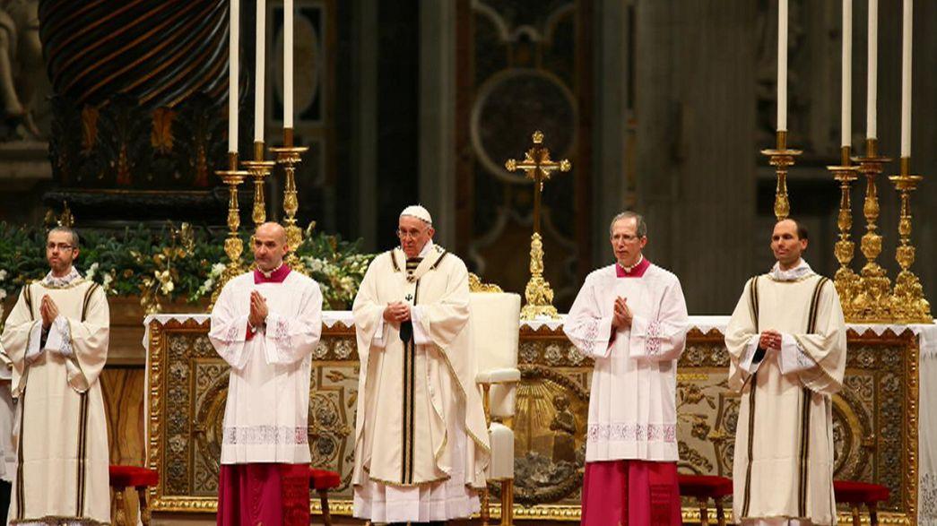 Papa Francesco per Natale richiama alla tenerezza
