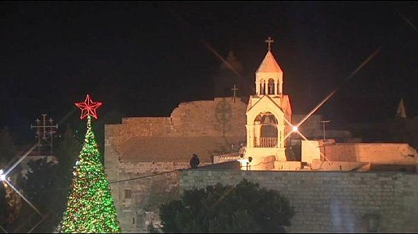 Рождество в Вифлееме: патриарх призвал к восстановлению сектора Газа