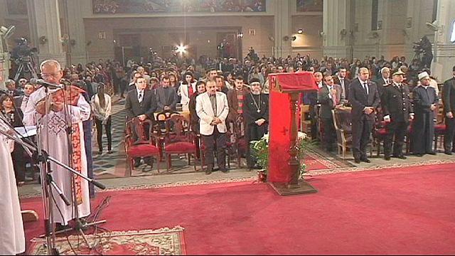 Христиане Египта молятся о мире
