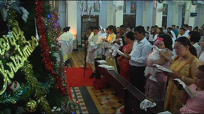 قداس ميلاد على ضحايا تسونامي آسيا في الذكرى العاشرة على مرور الكارثة