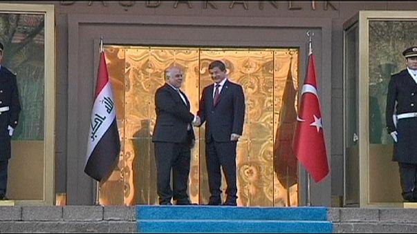 Iraque e Turquia acordam cooperação para lutar contra o grupo Estado Islâmico