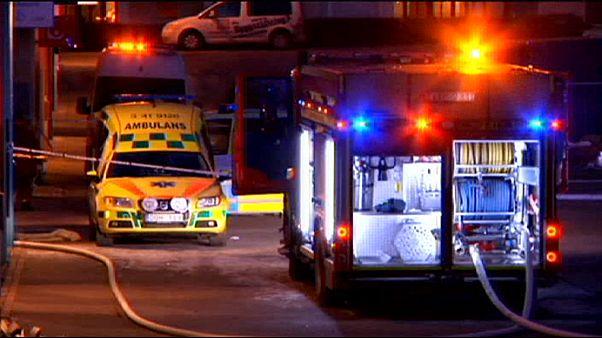 إصابة خمسة أشخاص في حريق متعمد في مسجد وسط السويد