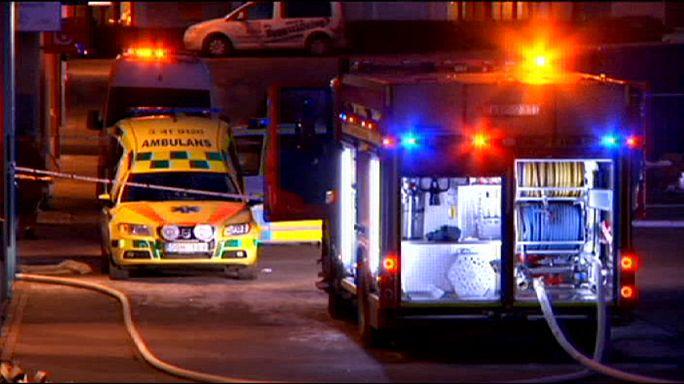 Швеция: полиция ищет подозреваемого в поджоге мечети