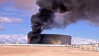 Attaque contre des terminaux pétroliers en Libye