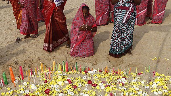 Tsunami 2004, cerimonie in India