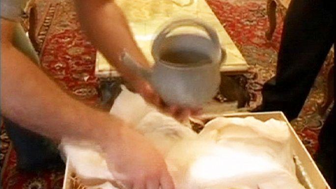 Visszaszállították Teheránba Belgiumból az iráni Seuso-kincseket