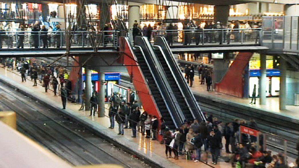 Spanien: Zugausfälle wegen Eisenbahn-Streik