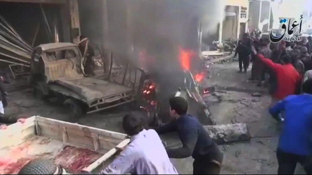 Al menos 45 civiles muertos por el enésimo bombardeo del Ejército sirio en Alepo