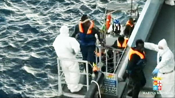 More than 1,000 migrants rescued off Italian coast on Christmas Day