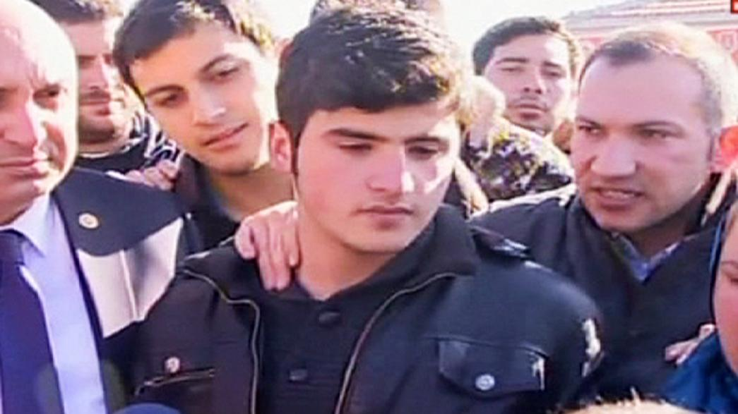 Schoolboy arrested for 'insulting' Turkish president released