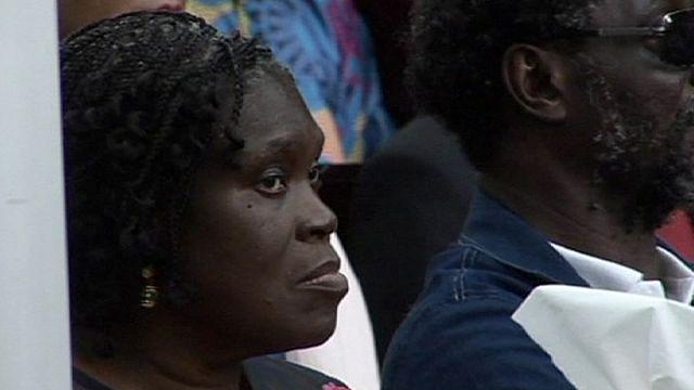 Bíróságon Simone Gbagbo