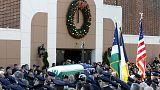 """Usa, in migliaia ai funerali dell'agente ucciso, Biden: """"Polizia di New York la migliore"""""""