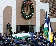 Thousands attend New York funeral for shot policeman Rafael Ramos