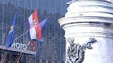 Hırvatistan'da halk sandık başında