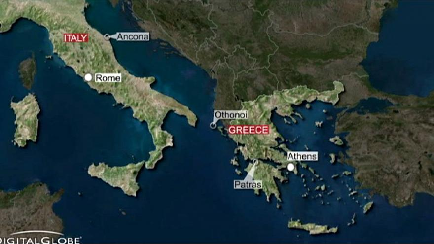 Greece: Evacuation of ferry with 466 people on board