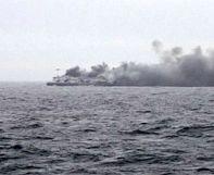 Incendie du ferry Norman Atlantic: au moins un mort, selon Athènes