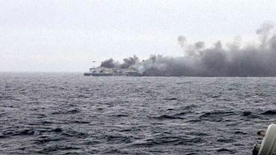 Incendie du ferry Norman Atlantic : au moins un mort, selon Athènes