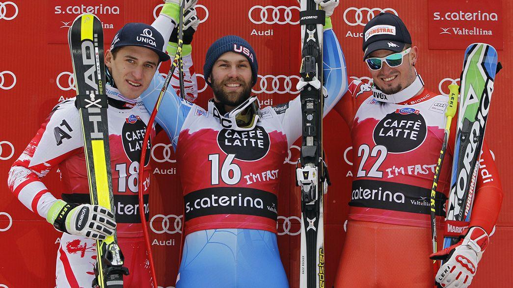 Gravity: Travis Ganong conquista primeira vitória na Taça do Mundo de Esqui Alpino